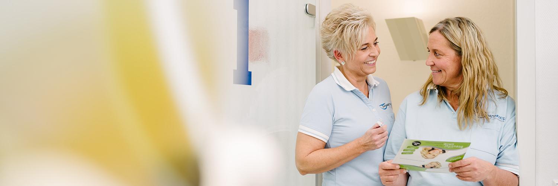 Zahnarzt Ebersbach - Dr. Eggenweiler - Besprechung in der Praxis