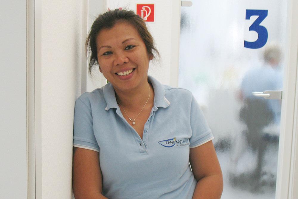 Zahnarzt Ebersbach - Dr. Eggenweiler - Team - Frau Scheible